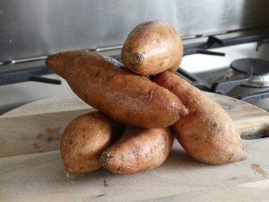 zoete aardappel koken