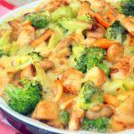 broccoli kip kaassaus recept